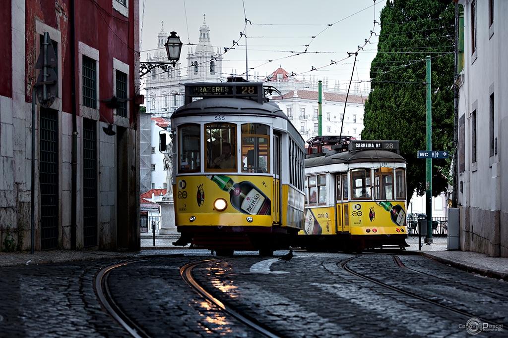 lisbonne tramway ligne 28
